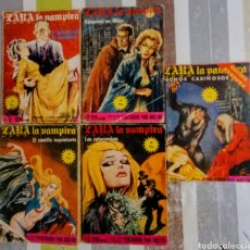 Cómics: ZARA LA VAMPIRA. 5 NUMEROS. 1976. PUBLICACION PARA ADULTOS.. Lote 195012777