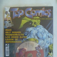 Cómics: TOP COMIC , LA REVISTA DE COMIC AMERICANO, Nº 14 . SIN USAR Y CON UN CD-ROM. Lote 195027587