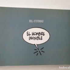 Cómics: FUERABORDA 1. EL HOMBRE INVISIBLE (EL CUBRI) - DE PONENT. Lote 195036271