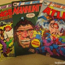 Cómics: NUMEROS 1 DE ATLAS MANHUNTER Y LOS DINGBATS DE LA CALLE PELIGRO NUEVOS. Lote 195040058
