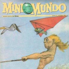 Cómics: MINI MUNDO,SUPLEMENTO JUVENIL,Nº 47.AÑO 1995. Lote 195056590