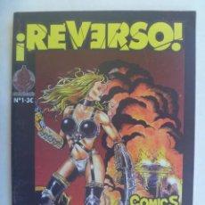 Cómics: ¡ REVERSO ! , Nº 1 . COMICS, ARTICULOS, TUTORIALES. Lote 195060437
