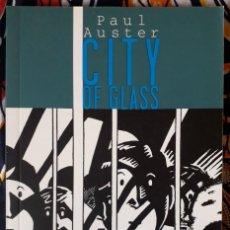 Cómics: PAUL AUSTER - PAUL KARASIK - DAVID MAZZUCCHELLI . CITY OF GLASS. Lote 195060766