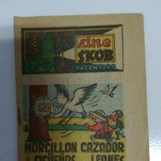 Cómics: SKOB CINE PATENTADO CÓMIC MORCILLON CAZADOR. Lote 195060951