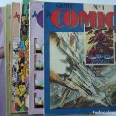 Cómics: FASCICULOS GENTE DE COMIC // 1 AL 20. Lote 195065938