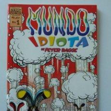 Cómics: MUNDO IDIOTA // 1 // PETER BAGGE. Lote 195066706