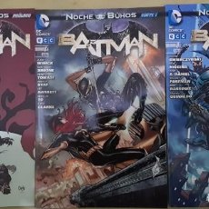 Cómics: BATMAN 06 A 08 NEW 52. ECC. Lote 195082266