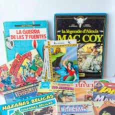 Cómics: LOTE DE COMICS DIVERSOS. MAC COY, TRUENO, JABATO, PURSUIT, ARTHUR, FLASH. Lote 195093692