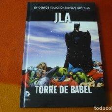 Cómics: JLA TORRE DE BABEL DC NOVELAS GRAFICAS 4 ( WAID PORTER ) ¡MUY BUEN ESTADO! SALVAT ECC. Lote 195100207