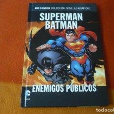 Cómics: SUPERMAN BATMAN ENEMIGOS PUBLICOS DC NOVELAS GRAFICAS 5 ( LOEB ) ¡MUY BUEN ESTADO! SALVAT ECC. Lote 195100252
