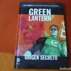 Cómics: GREEN LANTERN ORIGEN SECRETO DC NOVELAS GRAFICAS 6 ( GEOFF JOHNS ) ¡MUY BUEN ESTADO! ECC TAPA DURA. Lote 195100327