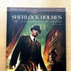 Cómics: SHERLOCK HOLMES / LOS VAMPIROS DE LONDRES.. Lote 195104785