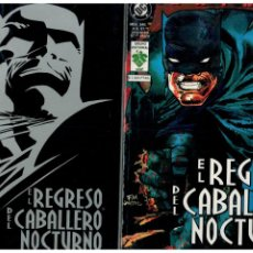 Cómics: BATMAN -EL REGRESO DEL CABALLERO NOCTURNO- TOMOS 1 Y 2. COMPLETA. VID EDITORIAL.. Lote 195112170