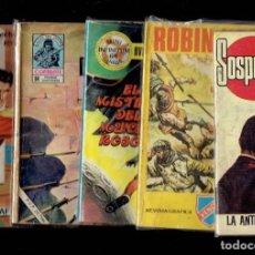 Cómics: LOTE DE 35 COMICS DE NOVELAS GRAFICAS DE COMBATE,POLICIACAS,OESTE CIENCIA FICCION Y AVENTURAS. Lote 195112301