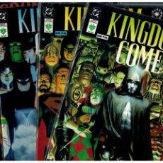 Cómics: KINGDOM COME - COMPLETA NºS.- 1,2,3,4 + SUPLEMENTO - DC VID CÓMICS. NUEVOS.. Lote 195120060
