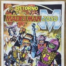Cómics: EL RETORNO DE LOS MADELMAN 2050 . Lote 195126876