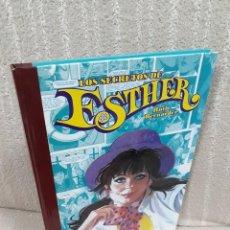 Cómics: LOS SECRETOS DE ESTHER - RUTH BERNÁRDEZ - EDT. Lote 195131406