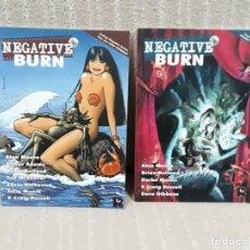 Cómics: NEGATIVE BURN - 2 NÚMEROS ¡¡COMPLETA!! - RECERCA. Lote 195133751