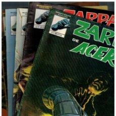 Cómics: ZARPA DE ACERO -MUNDICOMICS 1981- COLECCIÓN COMPLETA 6 NºS.- 1 AL 6. BUENOS. LEER. Lote 195137016