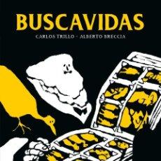 Cómics: BUSCAVIDAS DE CARLOS TRILLO Y ALBERTO BRECCIA - ECC TAPA DURA. Lote 195163916