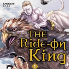 Cómics: THE RIDE-ON KING 1 - IVREA MANGA. Lote 195187241