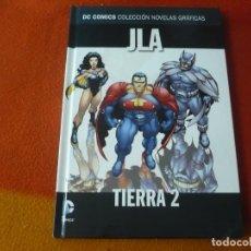 Cómics: JLA TIERRA 2 DC NOVELAS GRAFICAS 17 ( GRANT MORRISON QUITELY ) ¡MUY BUEN ESTADO! SALVAT ECC. Lote 195198612