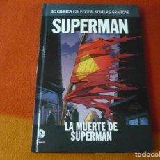 Cómics: LA MUERTE DE SUPERMAN DC NOVELAS GRAFICAS 18 ( JURGENS ORDWAY ) ¡MUY BUEN ESTADO! SALVAT ECC. Lote 195198682
