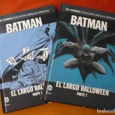 Cómics: BATMAN EL LARGO HALLOWEEN 1 Y 2 DC NOVELAS GRAFICAS 19 Y 20 ( LOEB ) ¡MUY BUEN ESTADO! SALVAT ECC. Lote 195198876