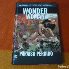 Cómics: WONDER WOMAN PARAISO PERDIDO DC NOVELAS GRAFICAS 21 (DEMATTEIS JIMENEZ) ¡MUY BUEN ESTADO! SALVAT ECC. Lote 195198981