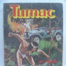 Cómics: TUMAC , Nº8 : LOS FORAJIDOS, UNA MUERTE LENTA. DE DE EDITORS S.A., 1979. Lote 195209270
