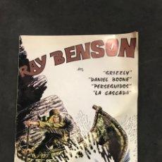 Cómics: RAY BENSON CÓMICS NÚMERO 2 DE 1982. Lote 195221641