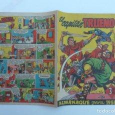Cómics: EL CAPITÁN TRUENO ALMANAQUE 1958. AMBRÓS-MORA, ORIGINAL BRUGUERA. MUY BUEN ESTADO.. Lote 195224890