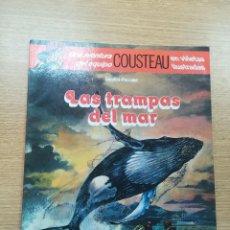 Cómics: UNA AVENTURA DEL EQUIPO COSTEAU LAS TRAMPAS DEL MAR. Lote 195231706