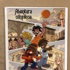Cómics: ABENTURA OLINPIKOA. TXANI RODRÍGUEZ, NACHO FERNÁNDEZ Y VERÓNICA ROSADO. GERNIKAKO KULTUR. Lote 195232866