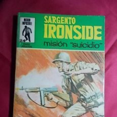 Cómics: SARGENTO IRONSIDE. Nº 24. MISIÓN IMPOSIBLE. EDITORIAL EUREDIT. Lote 195243518