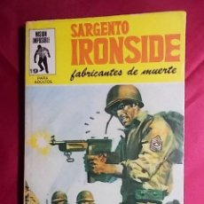Cómics: SARGENTO IRONSIDE. Nº 19. FABRICANTES DE MUERTE. EDITORIAL EUREDIT. Lote 195243727