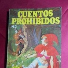 Cómics: CUENTOS PROHIBIDOS. Nº 3. CAPERUCITA ROJA. EDICIONES ACTUALES. 1977. Lote 195243957