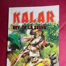 Cómics: KALAR REY DE LA SELVA. Nº 9. PRODUCCIONES EDITORIALES. Lote 195244457
