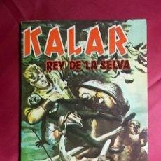 Cómics: KALAR REY DE LA SELVA. Nº 21. PRODUCCIONES EDITORIALES. Lote 195244588