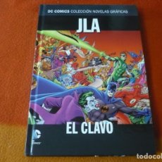 Comics: JLA EL CLAVO DC NOVELAS GRAFICAS 30 ( ALAN DAVIS ) ¡MUY BUEN ESTADO! SALVAT ECC TAPA DURA. Lote 195252480