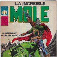 Cómics: LA INCREIBLE MOLE - AÑO I - Nº 11 - DICIEMBRE 31 DE 1969 *** EDITORIAL LA PRENSA MÉXICO ***. Lote 195264633