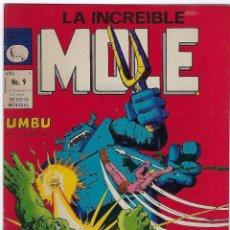 Cómics: LA INCREIBLE MOLE - AÑO I - Nº 9 - OCTUBRE 31 DE 1969 *** EDITORIAL LA PRENSA MÉXICO ***. Lote 195264755