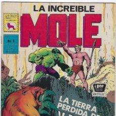 Cómics: LA INCREIBLE MOLE - AÑO I - Nº 8 - SEPTIEMBRE 30 DE 1969 *** EDITORIAL LA PRENSA MÉXICO ***. Lote 195264786