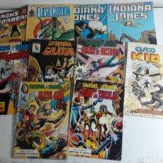 Cómics: LOTE CONICS ANTIGUOS INDIANA JONES ,FLASH GORDON ,CHICO KID. Lote 195267835