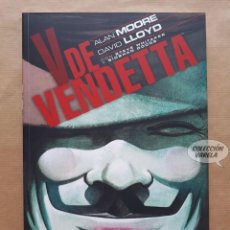 Cómics: V DE VENDETTA - ALAN MOORE Y DAVID LLOYD - ECC - RÚSTICA - JMV. Lote 195285025