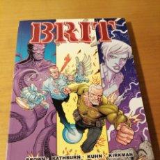 Cómics: BRIT, VOLUMEN DOS: AUSENTE SIN PERMISO. Lote 195317547