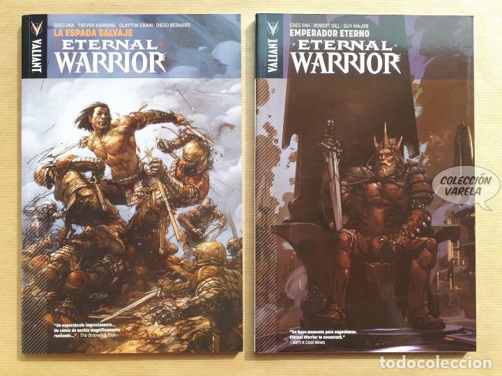ETERNAL WARRIOR 1 Y 2 - GREG PAK - VALIANT - JMV (Tebeos y Comics - Comics otras Editoriales Actuales)