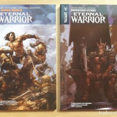 Cómics: ETERNAL WARRIOR 1 Y 2 - GREG PAK - VALIANT - JMV. Lote 195324452