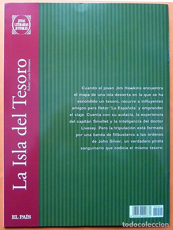 Cómics: LA ISLA DEL TESORO - ROBERT LOUIS STEVENSON - EL PAÍS - 2010 - NUEVO - Foto 3 - 195327713