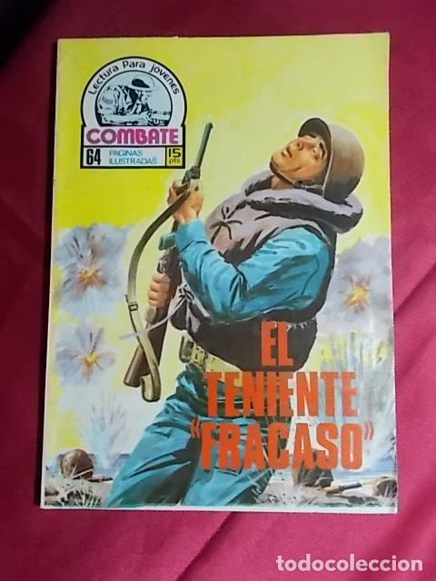 COMBATE. Nº 78. EL TENIENTE FRACASO. PRODUCCIONES EDITORIALES (Tebeos y Comics Pendientes de Clasificar)